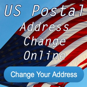 US Post Office Change of Address